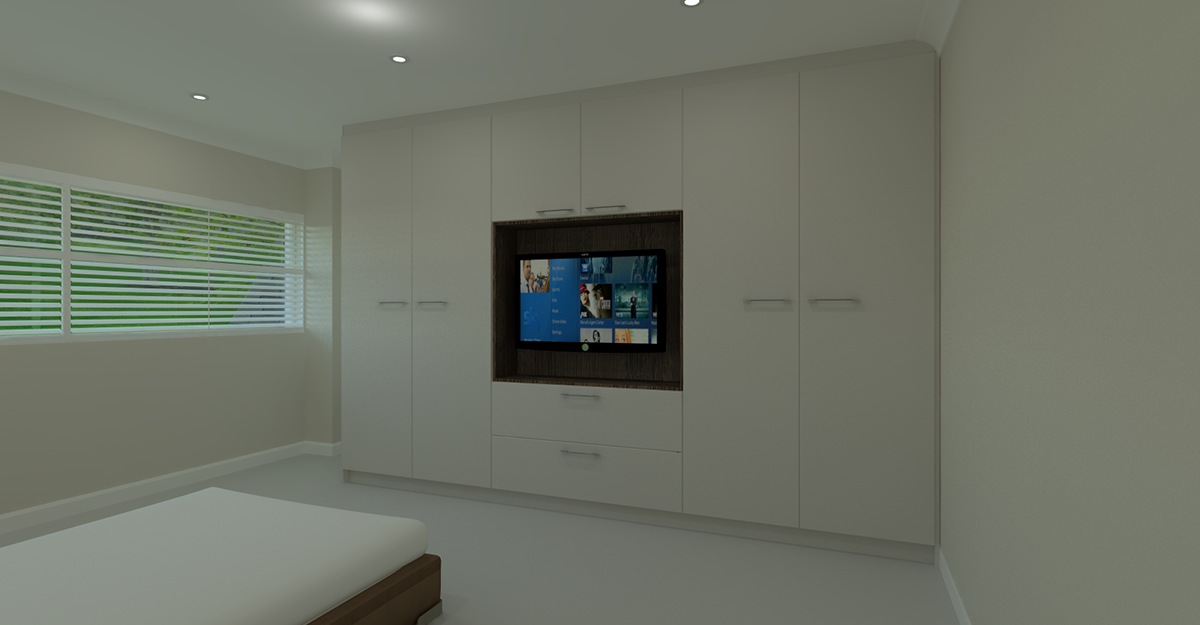 white modern flat door bedroom Tunbridge Wells kent