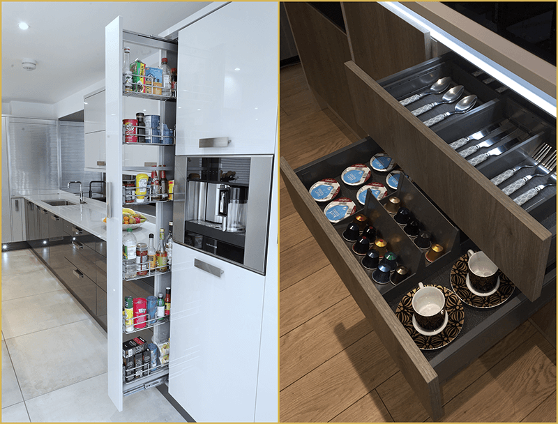 smart kitchen storage in kent