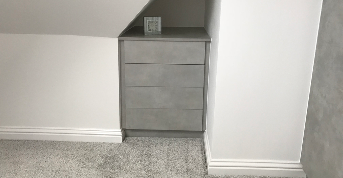textured flat door bedroom kent