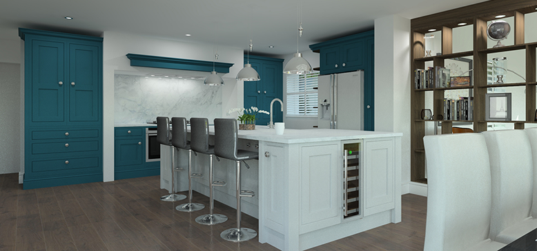 Qualified 3D & Award winning Kitchen Designers Kent